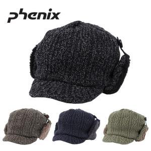 フェニックス Phenix ニット帽 メンズ フライト CAP PH858HW20|himaraya