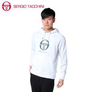 セルジオタッキーニ テニスウェア スウェットパーカー メンズ ST530315I01-WH SERGIO TACCHINI himaraya