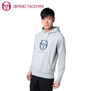 セルジオタッキーニ テニスウェア スウェットパーカー メンズ ST530315I01-GY SERGIO TACCHINI himaraya