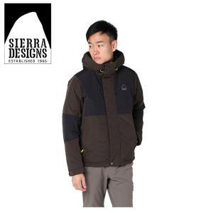 シェラデザイン SIERRA DESIGNS 中綿ジャケット メンズ スイッチングフード 20926472 BR|himaraya