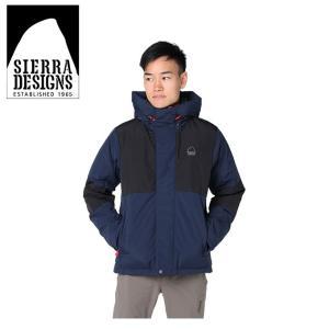 シェラデザイン SIERRA DESIGNS 中綿ジャケット メンズ スイッチングフード 20926472 NV|himaraya
