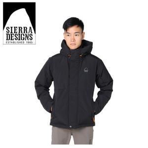 シェラデザイン SIERRA DESIGNS 中綿ジャケット メンズ スイッチングフード 20926472 BK|himaraya