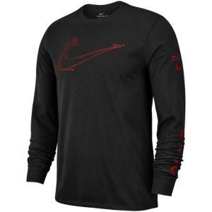 ナイキ バスケットボール 長袖シャツ メンズ ART L/S Tシャツ 924263-010 NIKE