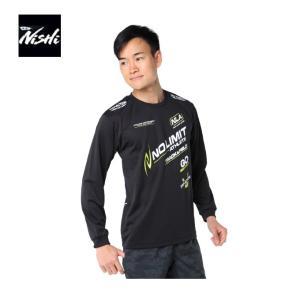 ニシ 陸上 長袖Tシャツ メンズ T&Fロングスリーブ NO N62-913-07 NISHI