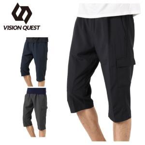 7分丈パンツ メンズ クロスカーゴ 3/4 パンツ VQ441301I05 ビジョンクエスト VIS...