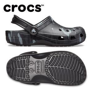 クロックス サンダル メンズ Classic Seasonal Graphic Clog クラシック シーズナル グラフィック クロッグ 205706-097 crocs