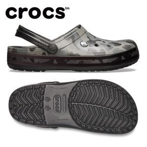 クロックス クロックバンド シーズナル グラフィック クロッグ 205579-0DY メンズ crocs|himaraya