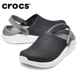 クロックス サンダル メンズ LiteRide Clog ライトライド クロッグ 204592-05M crocs|himaraya