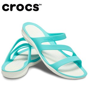 クロックス サンダル レディース Women's Swiftwater Sandal スウィフトウォーター サンダル ウィメン 203998-4DY crocs|himaraya