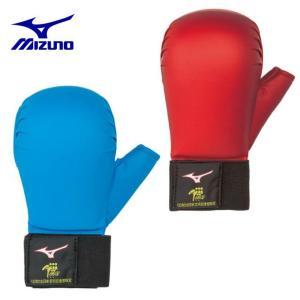 ミズノ 拳サポーター メンズ レディース 空拳サポーター 全日本空手道連盟検定品 両手1組 23JHA866 MIZUNO|himaraya