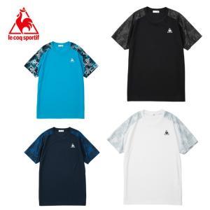 吸汗速乾、UVカット機能に優れたサンスクリーン素材を採用したシャツアイテム。大胆なロゴグラフィックデ...