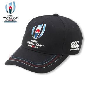 「ラグビーワールドカップ2019(TM)日本大会」カンタベリー公式ライセンス商品 RWC2019 EVENT LOGO CAP|himaraya