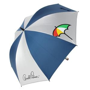 アーノルドパーマー arnold palmer  ゴルフ 傘 メンズ レディース アーノルドパーマー銀パラソル 54132-00302|himaraya