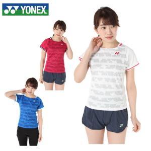 ヨネックス テニスウェア Tシャツ 半袖 レディース ウィメンズシャツ スリムタイプ 20383 YONEX
