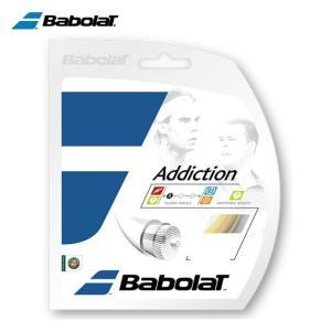 バボラ テニスガット 硬式 単張り ナイロンマルチフィラメント アディクション125 BA241115-125 Babolat|himaraya