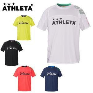 アスレタ ATHLETA サッカーウェア 半袖シャツ ジュニア カラープラクティスシャツ 02312J|himaraya