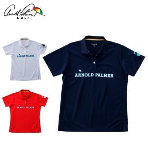 アーノルドパーマー arnold palmer ゴルフウェア ポロシャツ 半袖 レディース 胸プリント半袖シャツ AP220301I02 himaraya