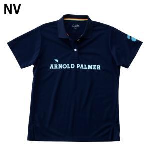 アーノルドパーマー arnold palmer ゴルフウェア ポロシャツ 半袖 レディース 胸プリント半袖シャツ AP220301I02 himaraya 02