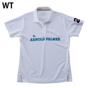 アーノルドパーマー arnold palmer ゴルフウェア ポロシャツ 半袖 レディース 胸プリント半袖シャツ AP220301I02 himaraya 03