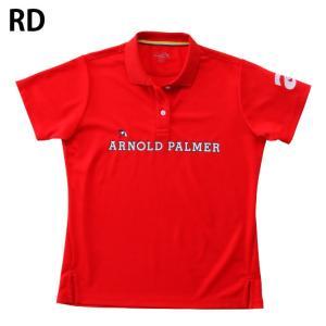 アーノルドパーマー arnold palmer ゴルフウェア ポロシャツ 半袖 レディース 胸プリント半袖シャツ AP220301I02 himaraya 04