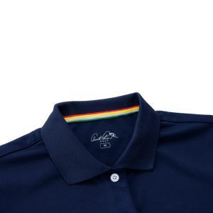 アーノルドパーマー arnold palmer ゴルフウェア ポロシャツ 半袖 レディース 胸プリント半袖シャツ AP220301I02 himaraya 06