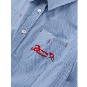 アーノルドパーマー arnold palmer ゴルフウェア ワンピース レディース ストライプシャツワンピース AP220312I01|himaraya|08