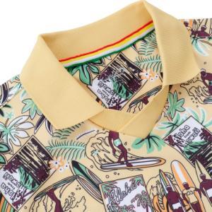 アーノルドパーマー arnold palmer ゴルフウェア 半袖シャツ メンズ アロハ柄スキッパー半袖シャツ AP220101I02|himaraya|05