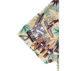 アーノルドパーマー arnold palmer ゴルフウェア 半袖シャツ メンズ アロハ柄スキッパー半袖シャツ AP220101I02|himaraya|10