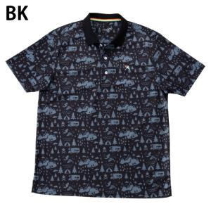アーノルドパーマー arnold palmer ゴルフウェア ポロシャツ 半袖 メンズ 総柄PT半袖ポロ AP220101I09|himaraya|02
