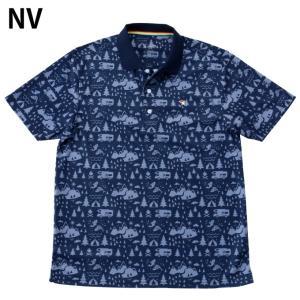 アーノルドパーマー arnold palmer ゴルフウェア ポロシャツ 半袖 メンズ 総柄PT半袖ポロ AP220101I09|himaraya|03