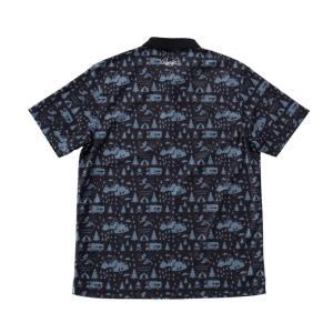 アーノルドパーマー arnold palmer ゴルフウェア ポロシャツ 半袖 メンズ 総柄PT半袖ポロ AP220101I09|himaraya|05
