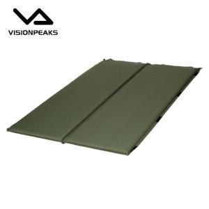 ビジョンピークス VISIONPEAKS エアマット インフレータマット4cm 2P VP160302I02|himaraya