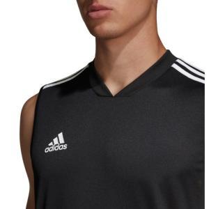 アディダス サッカーウェア プラクティスシャツ ノースリーブ メンズ TIRO19 トレーニングジャージー スリーブレス DT5401 FJU33 adidas himaraya 04