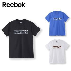 吸汗速乾性を備えたモックアイレットのグラフィックTシャツ。 フロントにデザートカモのボックスロゴをプ...