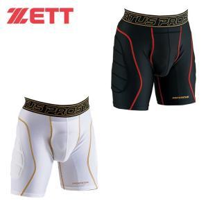 ゼット ZETT 野球 スライディングパンツ メンズ プロステイタス スパッツ インナー パッド付き BP45P|himaraya