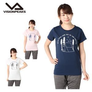 ビジョンピークス VISIONPEAKS  Tシャツ 半袖 レディース クマ VP171116I05|himaraya