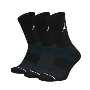 ナイキ バスケットボール ソックス メンズ レディース ジョーダン ジャンプマン クルー 3足組 SX5545-013 NIKE|himaraya