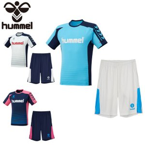 ヒュンメル サッカーウェア プラクティスシャツ 上下セット ジュニア Tスーツ HJY1142SP ...