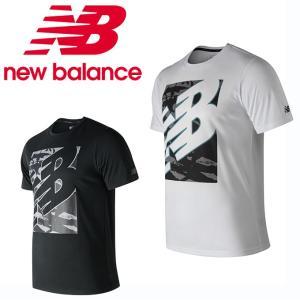 ポリエステル混コットンを使用したグラフィックTシャツ。 優れた吸汗速乾性を発揮するテクノロジー「NB...