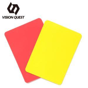 ビジョンクエスト VISION QUEST サッカー レフリー用品  レッド/イエローカード VQ540507I05|himaraya
