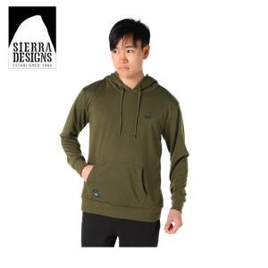 シェラデザインズ SIERRA DESIGNS スウェットパーカー メンズ ドライ 胸刺繍 20934580 KH|himaraya