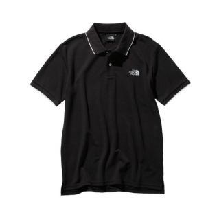 ノースフェイス ポロシャツ メンズ S/S MAXIFRESH Lined Polo マキシフレッシュ ラインド ポロ NT21943 K THE NORTH FACE|himaraya