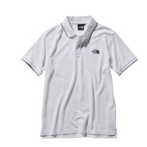 ノースフェイス ポロシャツ メンズ S/S MAXIFRESH Lined Polo マキシフレッシュ ラインド ポロ NT21943 W THE NORTH FACE|himaraya