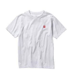 ノースフェイス Tシャツ 半袖 メンズ S/S Small Box Logo Tee スモール ボックス ロゴ ティー NT31955 W THE NORTH FACE|himaraya