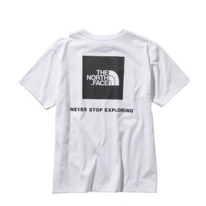 ノースフェイス Tシャツ 半袖 メンズ S/S Square Logo Tee スクエア ロゴ ティー NT31957 W THE NORTH FACE|himaraya