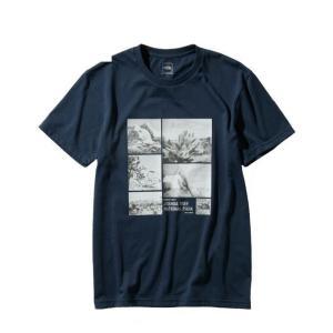 ノースフェイス Tシャツ 半袖 メンズ S/S Photo Logo Tee フォト ロゴ ティー NT31933 UN THE NORTH FACE|himaraya