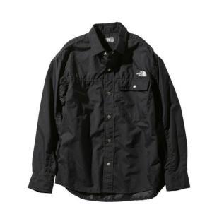 ノースフェイス 長袖シャツ メンズ レディース L/S Nuptse Shirt ヌプシ シャツ NR11961 K THE NORTH FACE アウトドアシャツ|himaraya