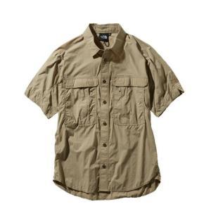 ノースフェイス 半袖シャツ メンズ レディース S/S Meridian Shirt メリディアン シャツ NR21963 TW THE NORTH FACE himaraya