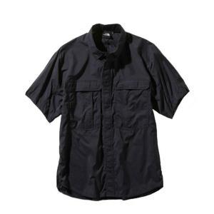 ノースフェイス 半袖シャツ メンズ レディース /S Meridian Shirt メリディアン シャツ NR21963 K THE NORTH FACE himaraya