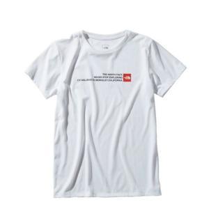 ノースフェイス Tシャツ 半袖 レディース Square Logo Tee スクエアロゴティー NTW31974 W THE NORTH FACE|himaraya